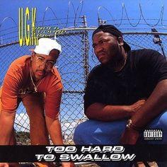 Today in Hip Hop History:UGK released their debut album Too Hard. Today in Hip Hop History: UGK released their debut album Too Hard To Swallow November 10 1992 Rap Music, Good Music, Classic Hip Hop Albums, Southern Hip Hop, Pimp C, Rap Album Covers, Rap City, Hip Hop Classics, Rap Albums