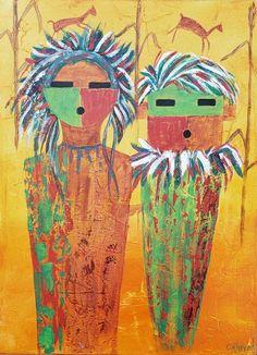 Mixed Media Painting, Impressionist, Palette, Fine Art, Lettering, Texture, Canvas, Artwork, Christmas