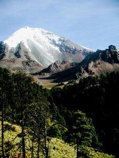 Pico de Orizaba en el estado de Veracruz, México.
