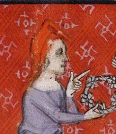 hood Les manuscrits du Roman de la rose 1375 to 1400 080r