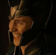 Loki smiles. I think I just died...