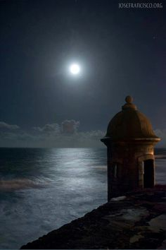 Just amazingly beautiful....Garita ( watch tower)....Old San Juan,  PR