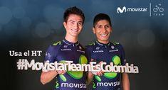 Comienza la edición 67 del Campeonato Nacional de Ruta. Apoya a nuestros ciclistas con el HT#MovistarTeamEsColombia
