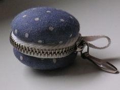 tiny macaron purse pendant DIY