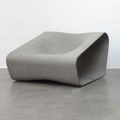 Austrian designer Rainer Mutsch has created a range of outdoor seating moulded from sheets of fiber cement