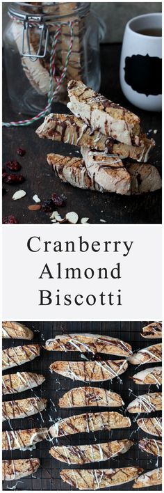Cranberry Almond Biscotti - Easy, Full-Proof Cranberry Almond Biscotti!