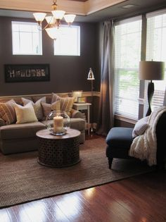Living Room Ideas Mink a little trim = a big difference | doors, room and paint ideas