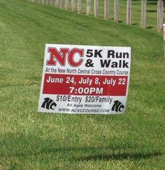 North Central Run & Walk  June & July 2015.  Indianapolis, Indiana.