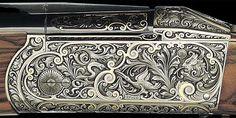 Krieghoff Shotgun Engraving