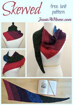 Skewed ~ Free Knit Pattern by Jessie At Home