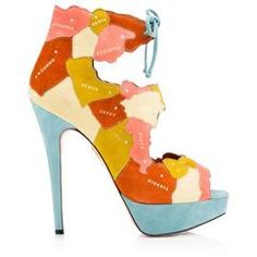 WORLD AT HER FEET, Charlotte Olympia