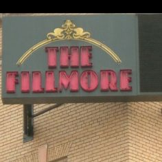 San Francisco, CA.  The Fillmore.