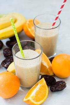 How to make a quick, easy Banana Date Shake for a healthy breakfast or a light snack Smoothies For Kids, Apple Smoothies, Healthy Smoothies, Healthy Drinks, Smoothie Recipes, Healthy Snacks, Healthy Recipes, Drinks Alcohol Recipes, Fruit Recipes