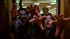 """George A. Romero's Dawn of the Dead (1978) . """" Following an ever-growing epidemic of zombies that have risen from the dead, two Philadelphia SWAT team members, a traffic reporter, and his television-executive girlfriend seek refuge in a secluded shopping mall. """" (movies.yahoo.com)"""