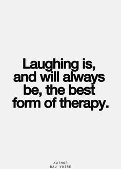 lachen is de beste therapie