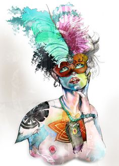 "lacarpa:  """"most exciting female graphic designers and illustrators"" """