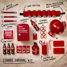 What's worse than a zombie apocalypse? A zombie apocalypse without Coca-Cola. #CokeSurvivalists #LiquidatingZombiesIsThirstyWork