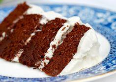 Paleo Chocolate Birthday Cake  @Paleo Spirit