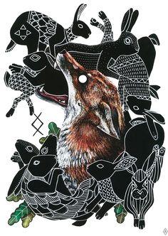 Animals (Illustration series) on Behance