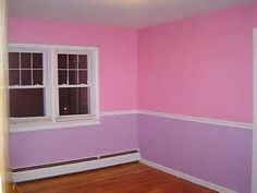pink, blue, purple girls room. i would love to do this for emma
