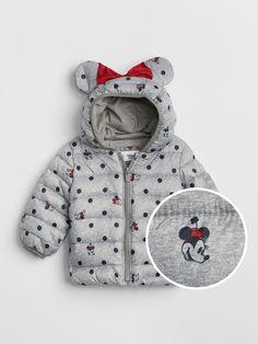 0dfe5bdd1 babyGap   Disney Minnie Mouse ColdControl Lite Puffer Jacket. Cute Toddler  Girl ClothesToddler OutfitsDisney Baby ...