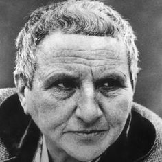 Gertrude Stein, who had the courage to live life robustly and the generosity to help others do the same.