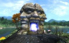 The Elder Scrolls IV: Oblivion - Sheogorath's Portal to the Shivering Isles.
