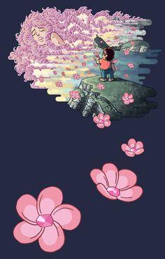 Rose Quartz and Steven Universe