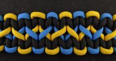 How to make a wide paracord bracelet | Paracord guild