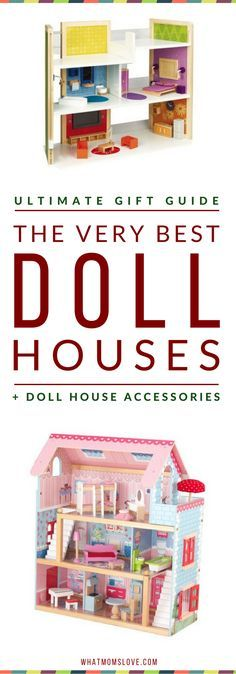 Best Dollhouses for Kids | Best Wooden Doll Houses | Best Modern Doll Houses For Girls | Best Play Houses For Boys | Gifts Ideas For Toddler Girls | Gift Ideas For 4 Year Old Girls | Click to access the top picks, or pin for later | from What Moms Love