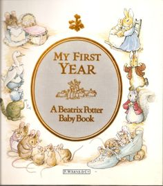 Beatrix+Potter+Baby+Book | My First Year A Beatrix Potter Baby Book by TheGlamourist on Etsy