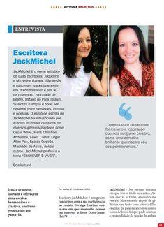 Entrevista JackMichel Revista Divulga Escritor - Edição de N.19 Abr/Mai 2016