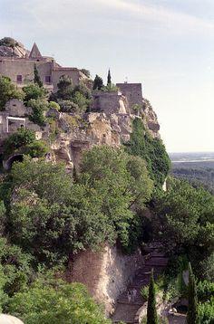Path to The Village of Les Baux de Provence, France