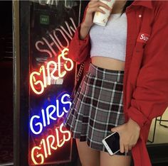 Korean Fashion Trends you can Steal – Designer Fashion Tips Grunge Fashion, 90s Fashion, Korean Fashion, Fashion Outfits, Womens Fashion, Fashion Killa, Rachel Green, Pretty Outfits, Cool Outfits