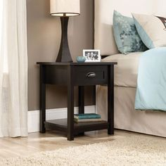 Sauder County Line Night Stand, Multiple Colors  More in out price range  one on either side of the bed would be prefect   one for him and one for me