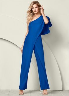 5e3c6ebba2877 0ne shoulder jumpsuit Style no.....z81110