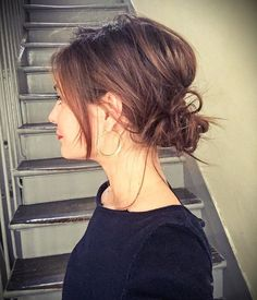 Wallpaper Backgrounds Ideas for iPhone and Android 24 – # for - Frisuren Ideen Messy Hairstyles, Pretty Hairstyles, Wedding Hairstyles, Formal Hairstyles, Summer Hairstyles, Short Hair Styles, Natural Hair Styles, Short Hair Ponytail, Great Hair