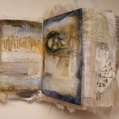 Kate Thompson fabric journal