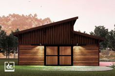 Brightwood horse barn kit is a modern single-story barn design that maximizes natural light and ventilation. Ridge Beam, Tongue And Groove Walls, Garage Party, Roof Sheathing, Barn Kits, Classic Equine, Cedar Boards, Barn Storage, Clerestory Windows