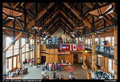 Henry M Jackson Visitor Center, Mt. Rainier National Park, Paradise, WA, Fletcher Farr Ayotte, 2008