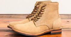 Oak Street Bootmakers Natural Roughout Trench Boot - http://hddls.co/2q29TT5