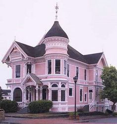 Victorian in Eureka, CA The Pink Lady.built by W. Carson as a wedding present for his son. You might ask, 'who is William Carson?'.