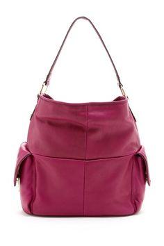 My new handbag!  B. Makowsky Lombard Hobo Handbag on HauteLook