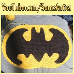 I've finally figured it out! Subscribe to YouTube.com/SamsAntics to be notified when the tutorial for the oval is available! #batman #batmancrochet #crochet #crochetbatman #crochetlove #crochetaddict #crochetersofinstagram #dc #dccomics #superhero #comics #comicbooknerd #comicbooknerd #nerd #dork #geek #oval #crochetoval #thesamantics #handmade #handmadebyme #madeinnh #madeinnewhampshire #madeinnewengland #salem #nh #newhampshire #newengland #yarn #yarnaddict