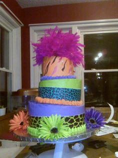 @Hannah Stephenson  This has to be your sweet 16 cake minus the things on top haha...something cuter there. :P