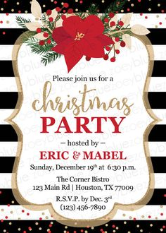 vintage christmas party flyer template free vector 信仰 xmas natal
