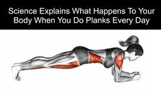 Science Explains What Happens to Your Body When You Do Planks Every Day