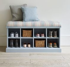 Have lots of shoes? See Ingenious Ways To Store Your Shoes shoe rack ideas closet, shoe rack ideas entryway, shoe rack ideas diy, shoe rack ideas bedroom Bench With Shoe Storage, Diy Furniture, Bench Furniture, Diy Storage, Bedroom Storage, Diy Storage Furniture, Bedroom Diy, Storage Furniture Bedroom, Bench With Storage