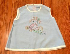 1950s Baby Smock Dress 18/24 Months by lishyloo on Etsy