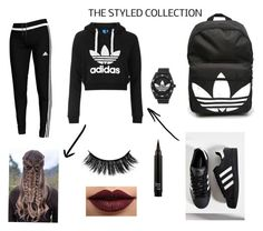 """""""✌🏻🎶✌🏻"""" by dara3-1 on Polyvore featuring adidas, Topshop and LASplash"""